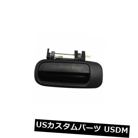 ドアノブ ドアハンドル Camry 92-96用、後部、運転席側外装ドアハンドル、スムースブラック、プラスチック For Camry 92-96. Rear. Driver Side Exterior Door Handle. Smooth Black. Plastic