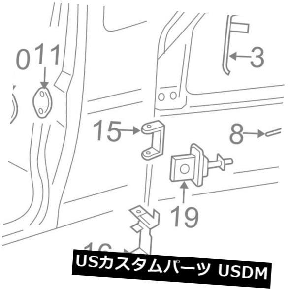ドアノブ ドアハンドル GM OEM外装ドアハンドル右25942272 GM OEM-Outside Exterior Door Handle Right 25942272