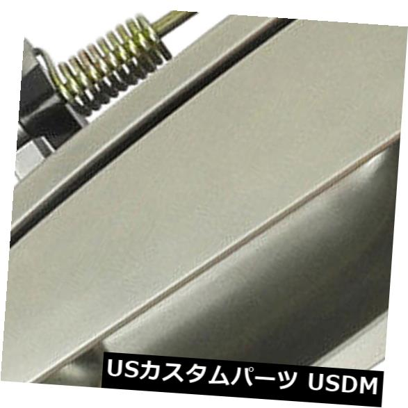 ドアノブ ドアハンドル 98-02ホンダアコードYR508MヘザーミストメタリックフロントL用ドアハンドル Outside Door Handle For 98-02 Honda Accord YR508M Heather Mist Metallic Front L