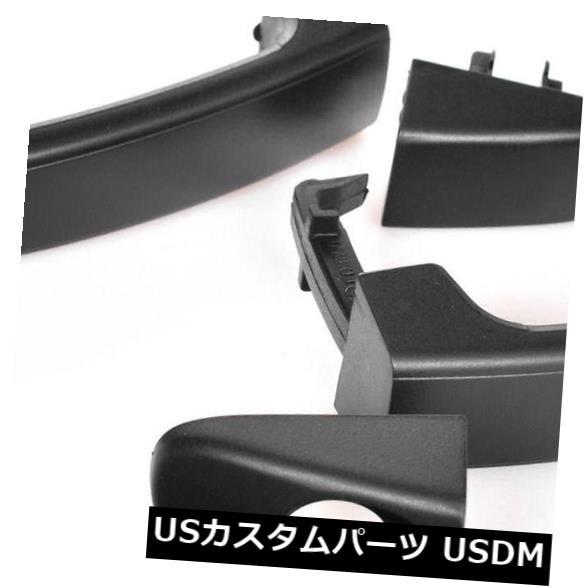 ドアノブ ドアハンドル フロントペアLH + RHマツダBT50 2011?2018用アウタードアハンドルのテクスチャー FRONT Pair LH+RH Outer Door Handle Texture For Mazda BT50 2011~2018