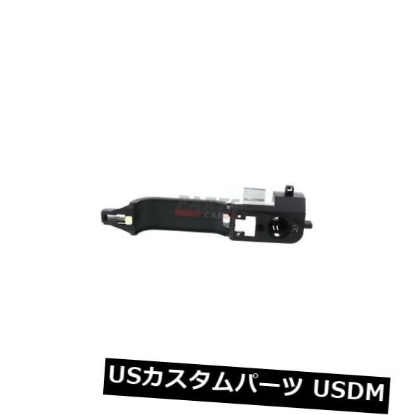 ドアノブ ドアハンドル 新しい外扉ハンドル黒左フロントフィット02-07フォードフォーカス6S4Z5426685C NEW EXTERIOR DOOR HANDLE BLACK FRONT LEFT FITS 02-07 FORD FOCUS 6S4Z5426685C
