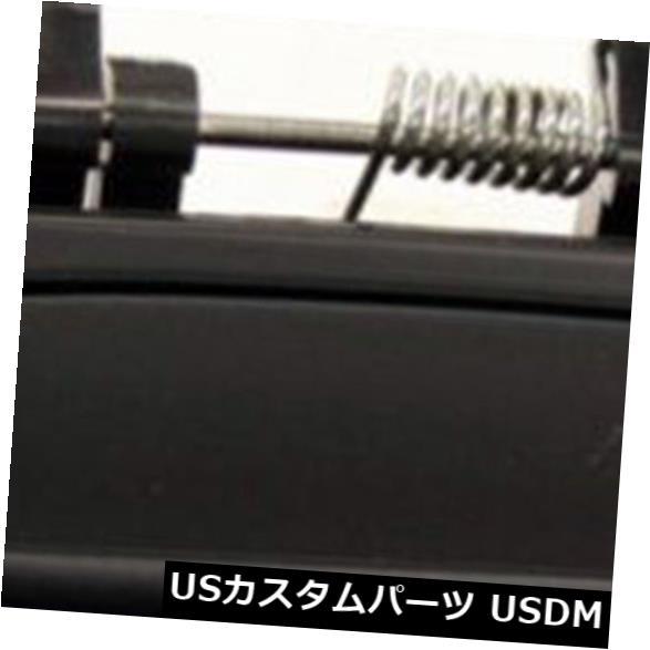 ドアノブ ドアハンドル 2000-2004のためにトヨタアバロン非塗装黒リア右ドアハンドルの外側 For 2000-2004 Toytoa Avalon Non Painted Black Rear Right Outside Door Handle