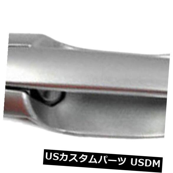 ドアノブ ドアハンドル 2000 - 2006年のマツダMPVのための外のドアハンドルの後部右は銀18Gを強調表示します Outside Door Handle Rear Right For 2000-2006 Mazda MPV Highlight Silver 18G