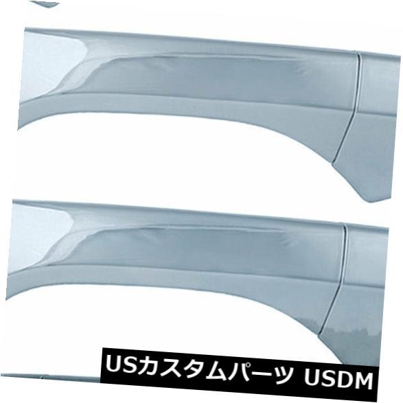ドアノブ ドアハンドル 2008-2012年ホンダアコードのための4つのクロムドアハンドルカバーのセット Set of 4 Chrome Door Handle Covers for 2008-2012 Honda Accord