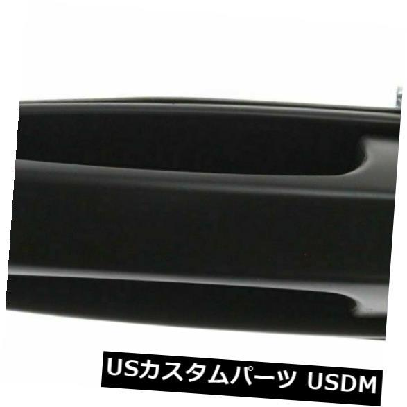 ドアノブ ドアハンドル リアLHサイドエクステリアドアハンドルテクスチャード加工ブラックフィットデュランゴアスペンCH1520110 Rear LH Side Exterior Door Handle Textured Black Fits Durango Aspen CH1520110
