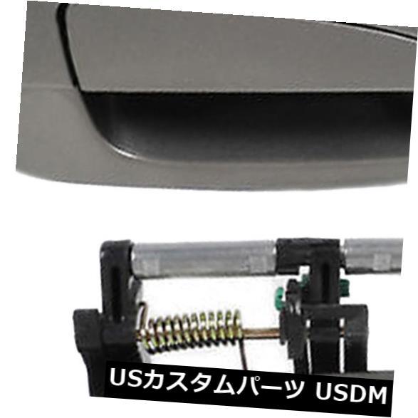 ドアノブ ドアハンドル 日産アルティマ2002-2006ポリッシュピューターメタリックKY2アウタードアハンドル用リア For Nissan Altima 2002-2006 Polished Pewter Metallic KY2 Outer Door Handle Rear