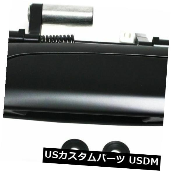 ドアノブ ドアハンドル 鍵穴が付いている新しいLHの側面の外の正面玄関のハンドルはホンダの適合HO1310123に合います New LH Side Exterior Front Door Handle With Keyhole Fits Honda Fit HO1310123
