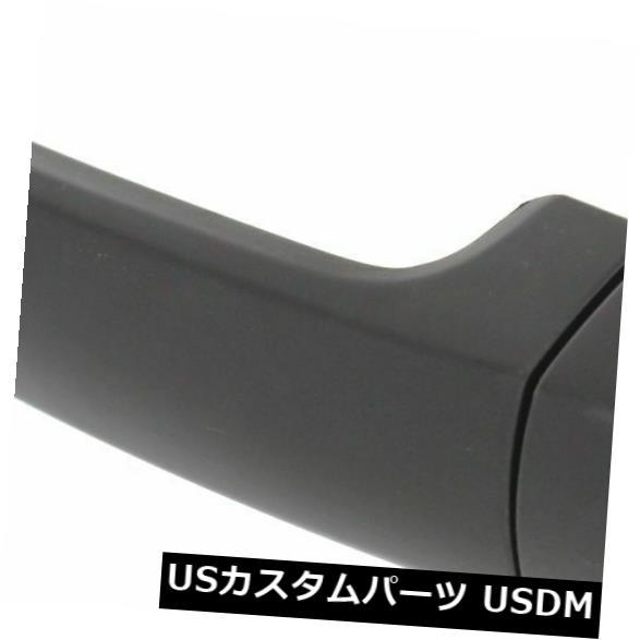 ドアノブ ドアハンドル フロントまたはリアRHまたはLHサイドプライミングブラックのプラスチック製外装ドアハンドルトヨタにフィット Front Or Rear RH Or LH Side Primed Black Pastic Exterior Door Handle Fits Toyota