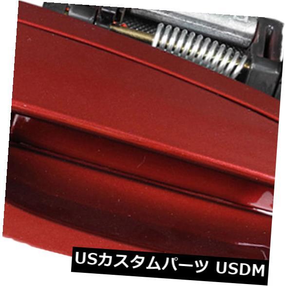 ドアノブ ドアハンドル 日産アルティマ2002-2006レッドマイカパールAX3アウトサイドドアフロント右側フロント用 For Nissan Altima 2002-2006 Red Mica Pearl AX3 Outside Door Handle Front Right
