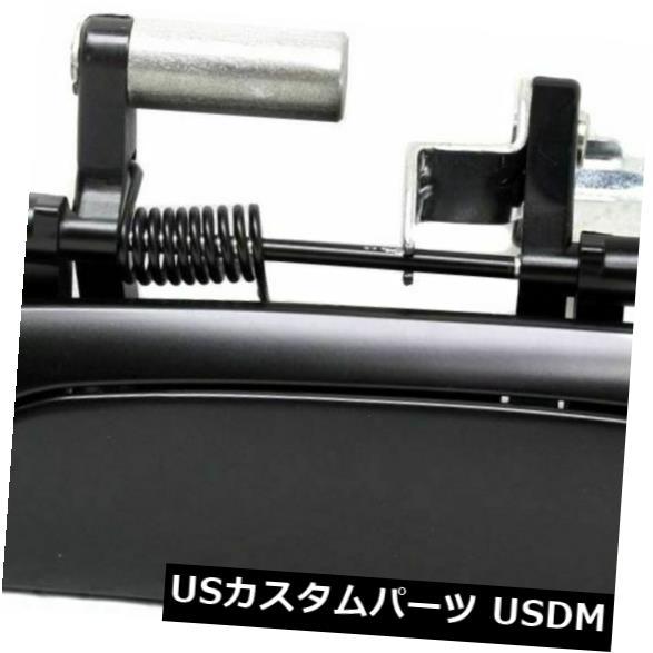 ドアノブ ドアハンドル 新しいLHサイドエクステリアプライミングブラックリアドアハンドルフィットホンダフィットHO1520119 New LH Side Exterior Primered Black Rear Door Handle Fits Honda Fit HO1520119