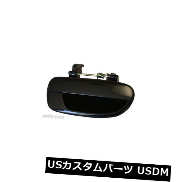 ドアノブ ドアハンドル 新しい滑らかで黒い外側ドアハンドルRHリア/ 2000-06 HYUNDAIアクセント用 New Smooth Black Outside Door Handle RH REAR / FOR 2000-06 HYUNDAI ACCENT