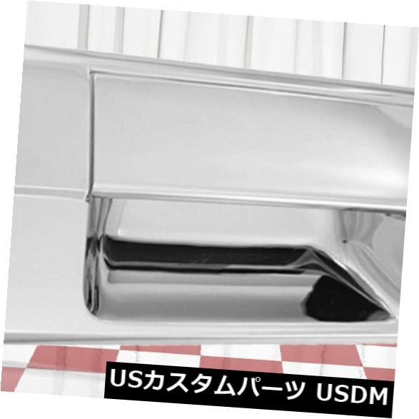 ドアノブ ドアハンドル 2ピースクロームテールゲートハンドルカバーは2007-2013トヨタツンドラに合います 2-Piece Chrome Tailgate Handle Cover fits 2007-2013 Toyota Tundra