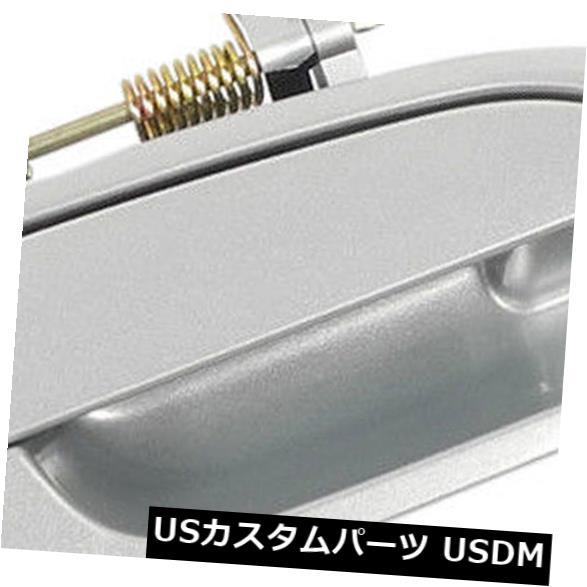 ドアノブ ドアハンドル 98-02 Honda Accord NH612MリージェントシルバーメタリックリアR用ドアハンドル用 For 98-02 Honda Accord NH612M Regent Silver Metallic Rear R Outside Door Handle