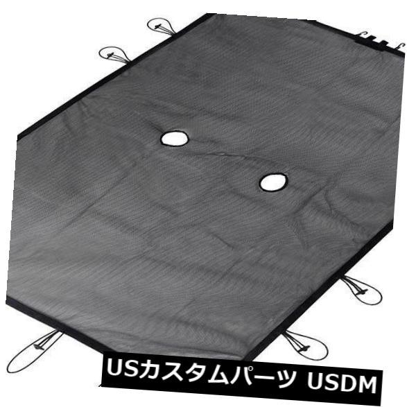 メッシュトップカバー 日よけソフトフルメッシュトップカバーブラックプロテクションフィットジープラングラー07-16 SA1 Sun Shade Soft Full Mesh Top Cover Black Protection fits Jeep Wrangler 07-16 SA1