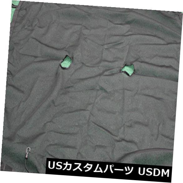 メッシュトップカバー ジープラングラーJK 4Doorのための便利な収納ブラックサンシェードメッシュトップカバー Convenient Storage Black Sun Shade Mesh Top Cover for Jeep Wrangler JK 4Door