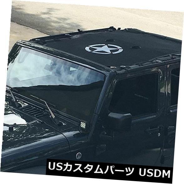 メッシュトップカバー ジープラングラー4ドアのための完全な日食SunShadeメッシュビキニトップカバーキット2007-18 Full Eclipse SunShade Mesh Bikini Top Cover Kit For Jeep Wrangler 4-Door 2007-18