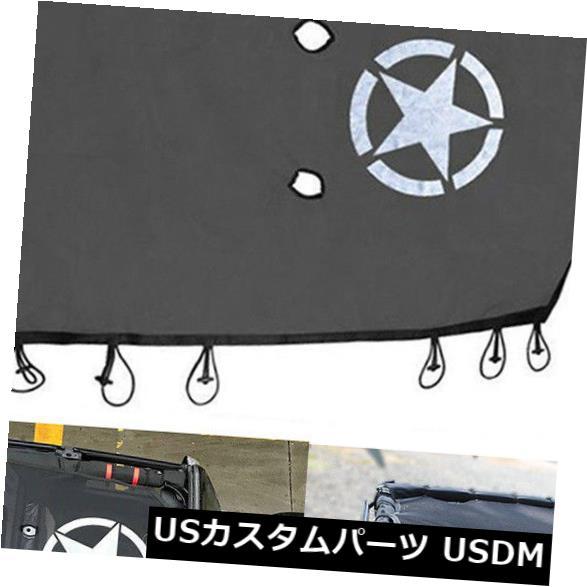 メッシュトップカバー メッシュサンシェードジープラングラーJK 2Door& Amp用フルトップカバーUVプロテクション 4ドア Mesh Sun Shade Full Top Cover UV Protection For Jeep Wrangler JK 2Door & 4Door