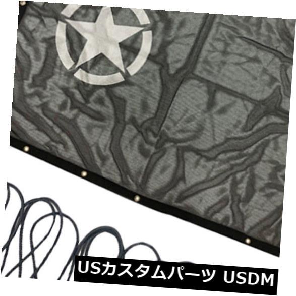 メッシュトップカバー ジープラングラーJK 2/4ドアのための日よけの紫外線保護メッシュトップカバー59x45 '' Sun Shade UV Protection Mesh Top Cover 59x45'' for Jeep Wrangler JK 2/4 Door