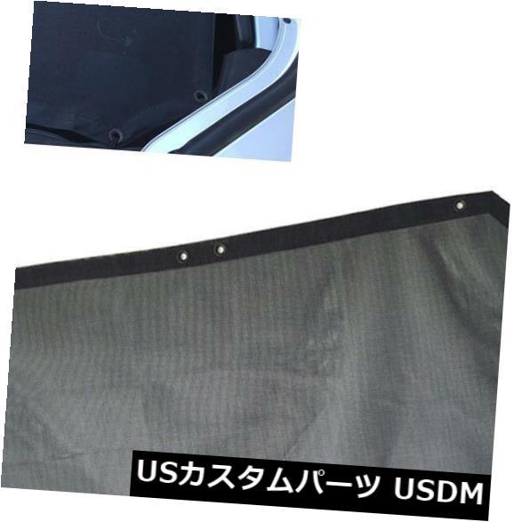 メッシュトップカバー 新しいジープソフトトップサンシェードメッシュカバーバイザーシールドUVプロテクトジープラングラー New Jeep Soft Top Sun Shade Mesh Cover Visor Shield UV Protect for Jeep Wrangler