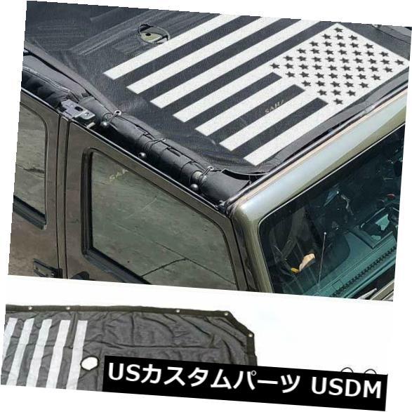 メッシュトップカバー フルメッシュサンシェードトップカバーbestaooジープラングラーJKポリエステルトップカバープロ... Full Mesh Sunshade Top Cover bestaoo Jeep Wrangler JK Polyester Top Cover Pro...