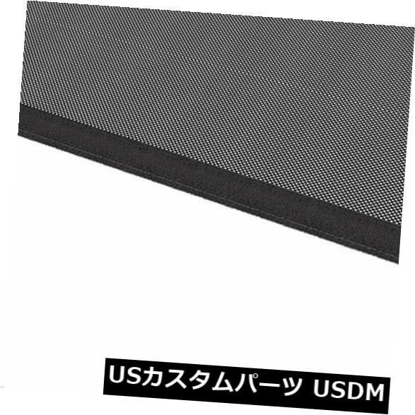 メッシュトップカバー ジープラングラーJL 2/4ドアのための黒のフロントメッシュソフトトップUVサンシェードカバー Black Front Mesh Soft Top UV Sun Shade Cover For Jeep Wrangler JL 2/4 Doors