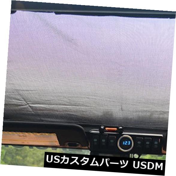 メッシュトップカバー ジープラングラーJKUのための車の自動車日よけの日食の上カバーの屋根の網 Car Automotive Sun Shade Eclipse Top Cover Roof Mesh for Jeep Wrangler JKU