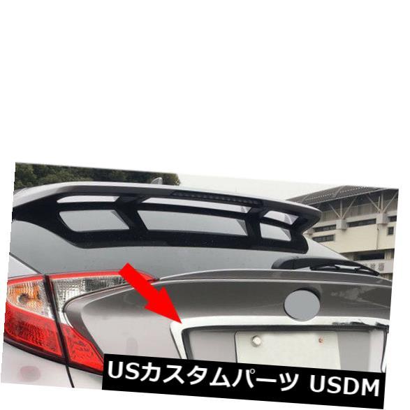 トランクリッドガーニッシュ フィット2016-2019トヨタC-HR CHRクロームリアトランクリッドカバーモールディングトリムガーニッシュ fits 2016-2019 Toyota C-HR CHR Chrome Rear Trunk Lid Cover Molding Trim Garnish
