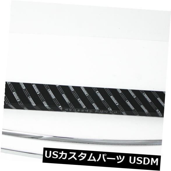 トランクリッドガーニッシュ ヒュンダイ11?15 Elantraのためのオートクローバーのクロムトランクのふた/ハンドルの装飾の鋳造物 Autoclover Chrome Trunk Lid/Handle Garnish Molding for Hyundai 11~15 Elantra