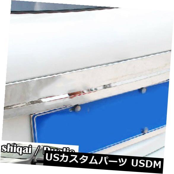 トランクリッドガーニッシュ 日産Dualis J10 2007-13用クロームリアトランクバックドアリッドカバーガーニッシュトリム For Nissan Dualis J10 2007-13 Chrome Rear Trunk Back Door Lid Cover Garnish Trim
