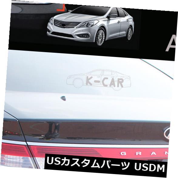 トランクリッドガーニッシュ ヒュンダイアゼラHG 2012?17用トランクガーニッシュクロームモールディングトリム1個シルバーC750 Trunk Garnish Chrome Molding Trim 1Pcs Silver C750 for Hyundai Azera HG 2012~17