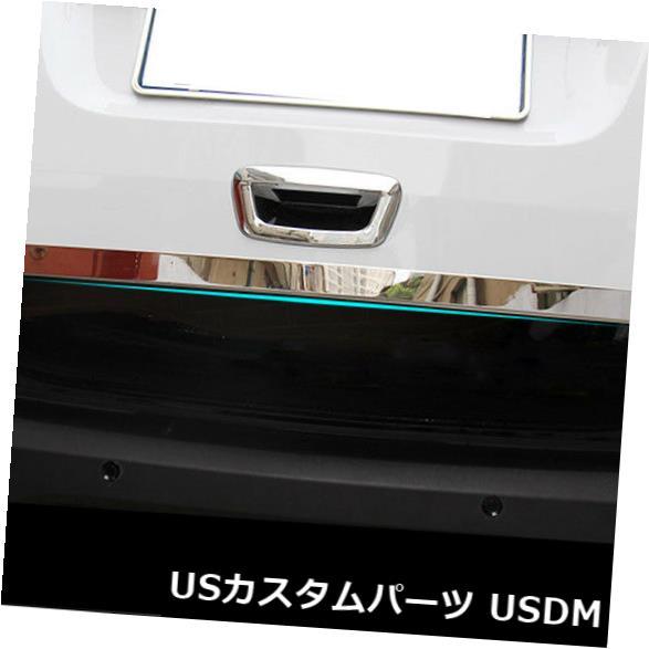 トランクリッドガーニッシュ 2013-17モッカクロームリアトランクハッチドアリッドカバーガーニッシュ用テールゲートトリム Tail Gate Trim For 2013-17 Mokka Chrome Rear Trunk Hatch Door Lid Cover Garnish
