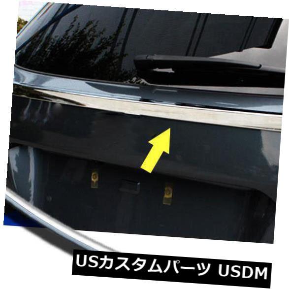 トランクリッドガーニッシュ スバルアウトバック15-18用リアトランクリッドテールゲートドアカバートリムガーニッシュモールディング Rear Trunk Lid Tailgate Door Cover Trim Garnish Molding for Subaru Outback 15-18