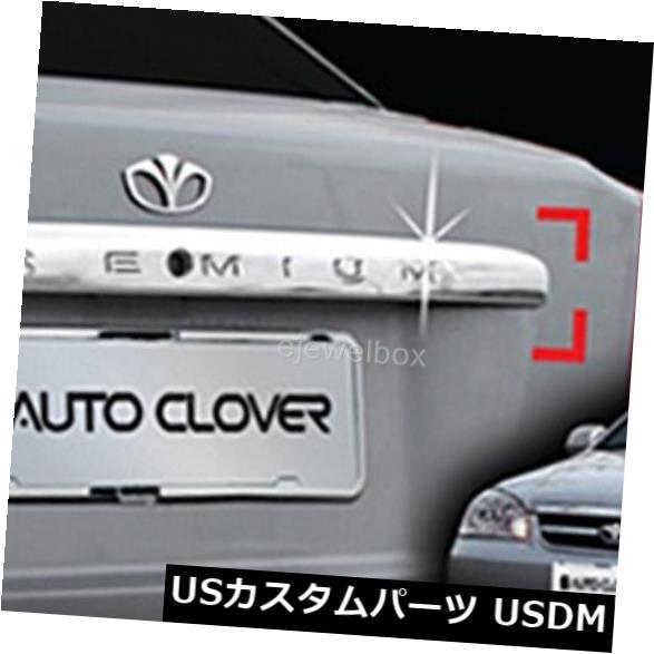 トランクリッドガーニッシュ 02-08シボレーラセッティのためのクロムトランクのふた/ハンドルの装飾の鋳造物のトリムカバー。 Chrome Trunk Lid/Handle Garnish Molding Trim Cover for 02-08 Chevrolet Lacetti.