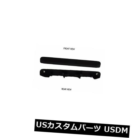 トランクリッドガーニッシュ サイオンXb 04 05 06リフトゲートトランクハッチハンドルフタガーニッシュペイント可能カバーブラック Scion Xb 04 05 06 Liftgate Trunk Hatch Handle Lid Garnish Paint-Able Cover Black