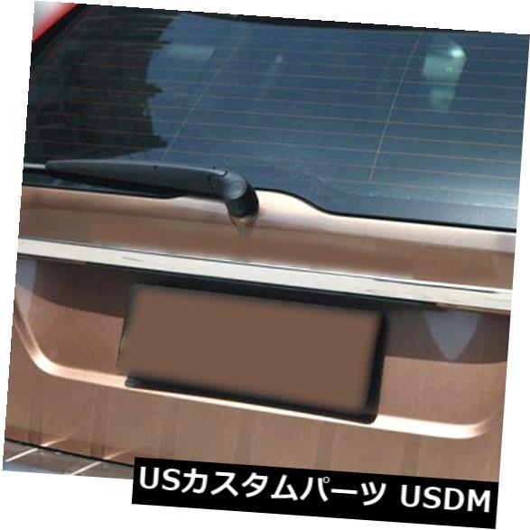 トランクリッドガーニッシュ 2009 - 14のためのフィットボルボXC60クローム後部ブーツドアトランク蓋カバーガーニッシュトリム FIT FOR 2009-14 VOLVO XC60 CHROME REAR BOOT DOOR TRUNK LID COVER GARNISH TRIM