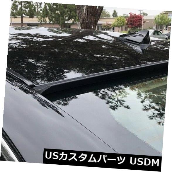 ルーフスポイラー フィット2010-2015アウディA4 B8リアウィンドウルーフスポイラー(Unwain  ted) Fit 2010-2015 AUDI A4 B8-Rear Window Roof Spoiler(Unpainted)