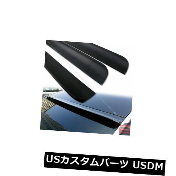 ルーフスポイラー フォルクスワーゲンジェッタMK4 99-04用VW用未塗装ウィンドウバイザールーフスポイラーウイング Unpainted Window Visor Roof Spoiler Wing for VW ForVolkswagen Jetta MK4 99-04 §