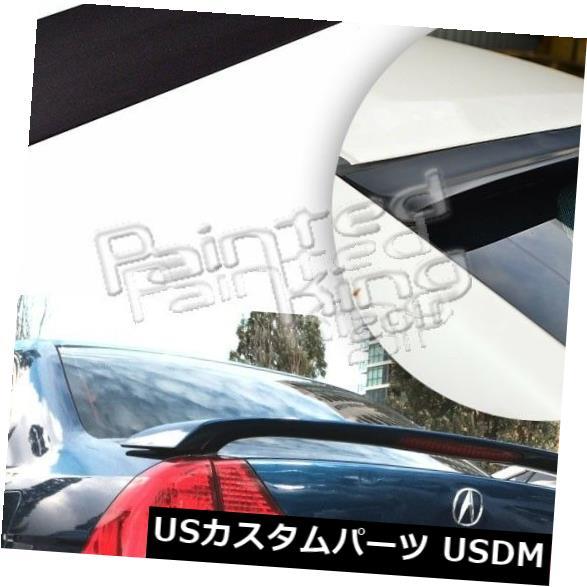 ルーフスポイラー ACURA EL 4D Sedanリアウィンドウルーフスポイラーウィング2001-2005用未塗装 Unpainted For ACURA EL 4D Sedan Rear Window Roof Spoiler Wing 2001-2005