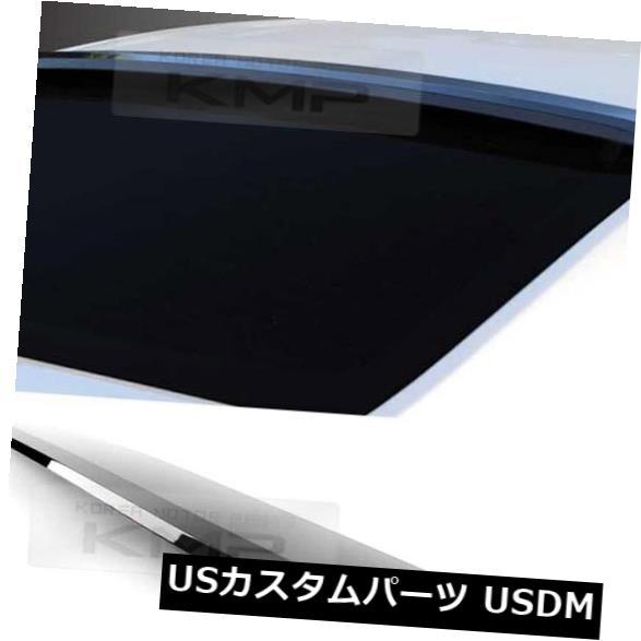 ルーフスポイラー 38_Smokeリアウィンドウルーフリップスポイラーバイザーモールディング用HYUNDAI 2015-18 Sonata 38_Smoke Rear Window Roof Lip Spoiler Visor Molding For HYUNDAI 2015-18 Sonata