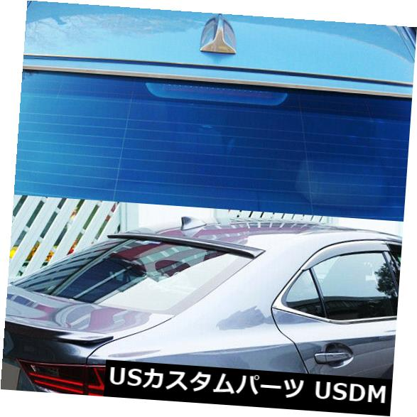 ルーフスポイラー Infiniti Q50 V37 1stセダン2013up用リアウィンドウルーフスポイラー未塗装 Rear Window Roof Spoiler for Infiniti Q50 V37 1st sedan 2013up Unpainted