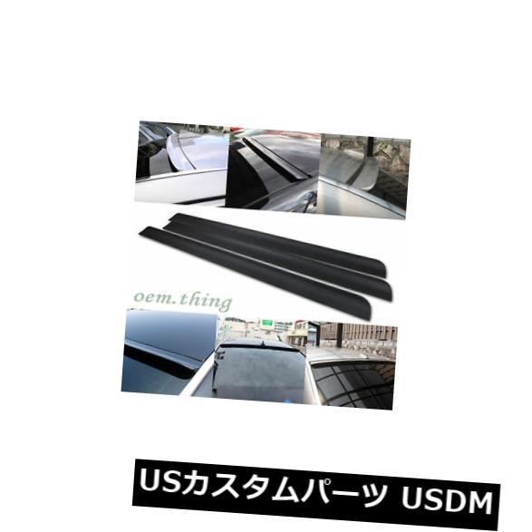 ルーフスポイラー 創世記クーペリアルーフスポーツスポイラーウィンドウバイザー2013-2014未塗装用 For Genesis Coupe Rear Roof Sport Spoiler Window Visor 2013-2014 Unpainted