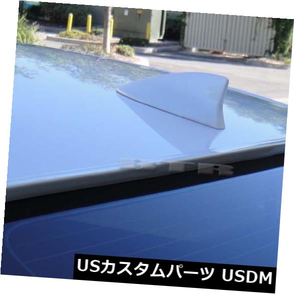 ルーフスポイラー BTRホワイト塗装2006-2013シボレーIMPALA第9世代リアウィンドウルーフスポイラー BTR White Painted 2006-2013 CHEVROLET IMPALA 9th Gen-Rear Window Roof Spoiler