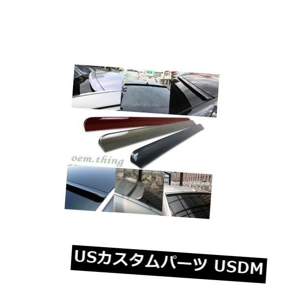 ルーフスポイラー SAAB 9 3エアロスポーツ4DRリアルーフウィンドウバイザースポイラー02-07用塗装色 Painted Color For SAAB 9 3 Aero Sport 4DR Rear Roof Window Visor Spoiler 02-07