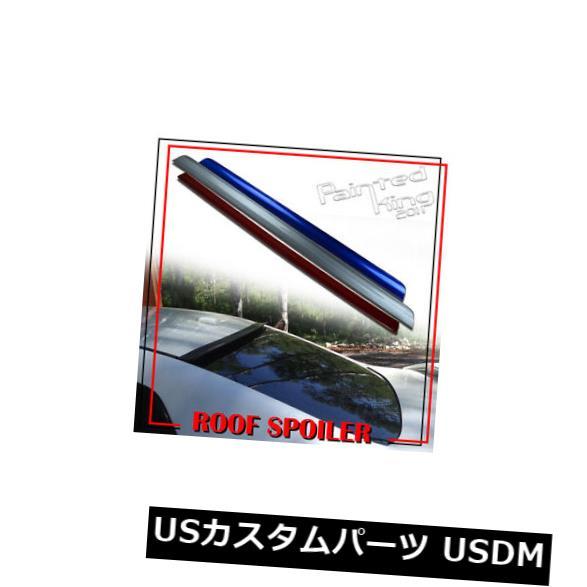 ルーフスポイラー ACURA TSX CU2ウィンドウバイザーリアルーフリップスポイラー09-14用に塗装 Painted For ACURA TSX CU2 Window Visor Rear Roof Lip Spoiler 09-14