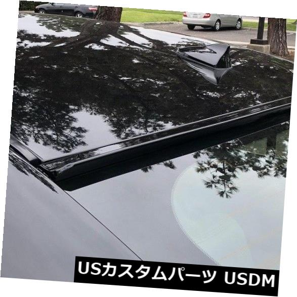 ルーフスポイラー 2013-2017年レクサスiS250 300 350(XE30) - 塗装済み完成品ブラック - リアウィンドウルーフスポイラー Painted BLACK for 2013-2017 LEXUS iS250 300 350(XE30)-Rear Window Roof Spoiler