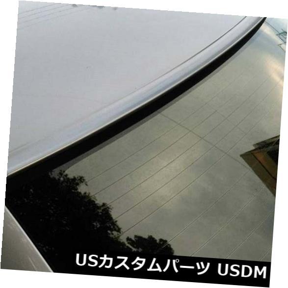 ルーフスポイラー シルバーカラーペインテッドフィット2005-2010 DODGE CHARGER-リアウィンドウルーフスポイラー Silver Color Painted Fit 2005-2010 DODGE CHARGER-Rear Window Roof Spoiler