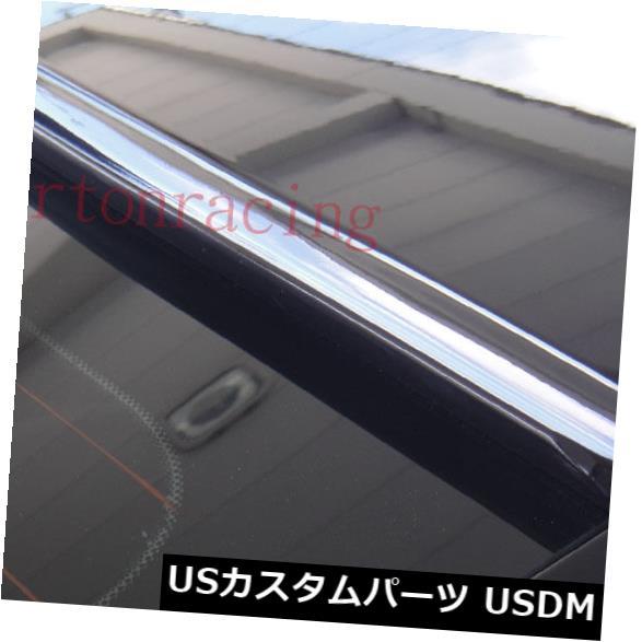 ルーフスポイラー 2001?2005年製ホンダシビック4Dリアウインドルーフスポイラー(ブラック) JR2 Painted For 2001-2005 HONDA CIVIC 4D-Rear Window Roof Spoiler(Black)