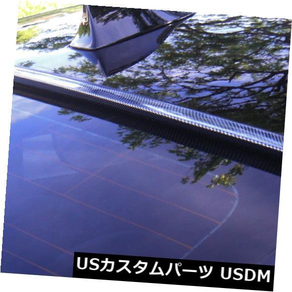 ルーフスポイラー 2003-2009年のための塗られたカーボンルックスベンツCLK 2D COUPE-後部窓ルーフスポイラー Painted CARBON LOOK For 2003-2009 BENZ CLK 2D COUPE-Rear Window Roof Spoiler