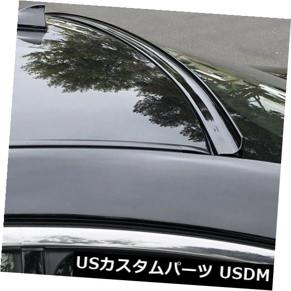 JR2 Painted BLACK color 2009-2016 AUDI A4 SEDAN B8-Rear Window ...