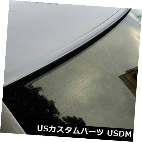 ルーフスポイラー 2004-2008日産マキシマ6TH GENリアウインドルーフスポイラー用塗装シルバー Painted SILVER For 2004-2008 NISSAN MAXIMA 6TH GEN-Rear Window Roof Spoiler